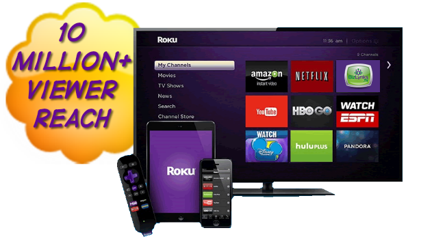 Subscribe to the BizLynks TV Network on Roku